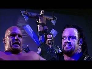 The Undertaker Sacrifices Stone Cold Steve Austin To His Symbol! 12/7/98