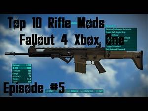 Top 10 Rifle Mods Fallout 4 Xbox One (XB1) Episode 5 #Fallout4 #Fallout4Mods #Fallout4Top10