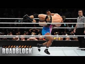 The New Day vs. The League of Nations – WWE Tag Team Titel Match: WWE Roadblock 2016