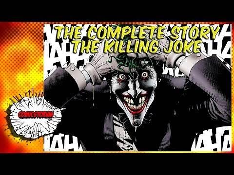 Batman The Killing Joke - Complete Story | Comicstorian