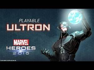 Play as Ultron in Marvel Heroes 2016