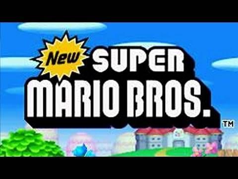 New Super Mario Bros. DS Full Game Walkthrough (100%)