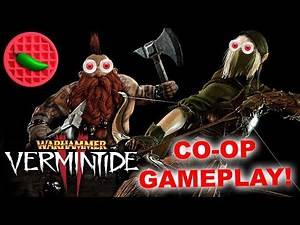 VERMINTIDE 2! INTENSE CO-OP ACTION! -- Let's Play Warhammer: Vermintide 2 (1080p PC Co-op Gameplay)