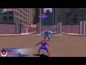 Spider-Man 2 The Game - Walkthrough Mission - 1 - Rhino's Rampage