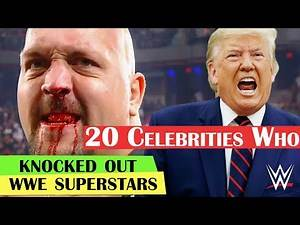 20 Celebrities Who Knocked Out WWE Superstars | Celebrities vs WWE Superstars