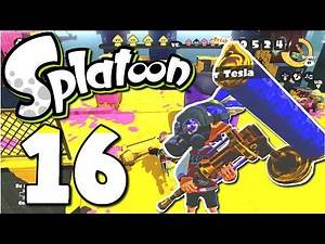 SPLATOON ONLINE Part 16 Dynaroller Tesla - Die Dampfwalze rollt los! [Deutsch/60FPS/HD]