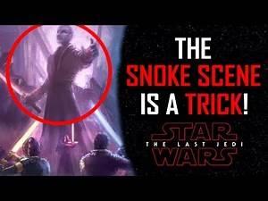 SNOKE SCENE is a TRICK!! - Star Wars The Last Jedi (Theory) **SPOILERS**