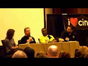 They Live panel with Rowdy Roddy Piper, Keith David, and Meg Foster