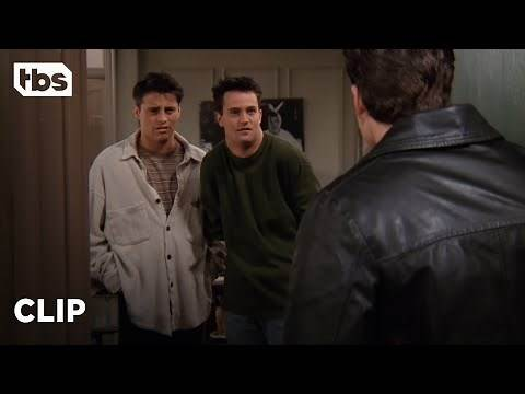 Friends: Chandler Kicks Out His Annoying Roommate Eddie (Season 2 Clip) | TBS
