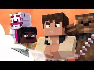 MINECRAFT FNAF HAN SOLO FULL MOVIE TRAILER! Minecraft Han Solo Spin off movie!