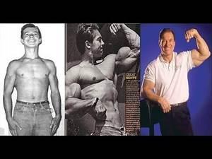 Larry Scott Transformation From 16 To 73 Golden era bodybuilding