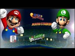 Mario Super Sluggers Season 1 Game 2 | Mario vs Luigi @ Mario Stadium