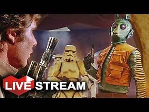 Star Wars Battlefront: Outer Rim DLC | Greedo & Nien Nunb Gameplay! MAPS! | Live Stream