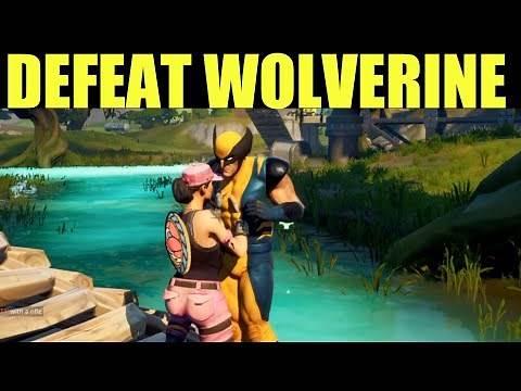 Defeat Wolverine Location (How to unlock Wolverine Skin) - Fortnite Wolverine Spawn Location