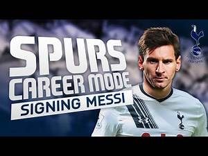FIFA 16 | Tottenham Career Mode | S3E2 | MESSI, RONALDO and an 88-rated signing?!