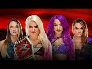 WWE 2K17 - Alexa Bliss vs Sasha Banks vs Nia Jax vs Emma: RAW Women's Championship