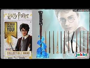 Harry Potter Collectible Die-Cast Wand Blind Boxes
