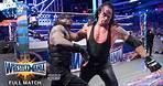 FULL MATCH - Roman Reigns vs. The Undertaker - No Holds Barred Match: WrestleMania 33