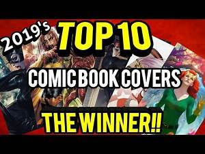 Top 10 Comic Book Covers Final Results Show!!