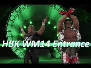 WWE 2k16 - Shawn Michaels [WrestleMania 14] DX Attire Entrance