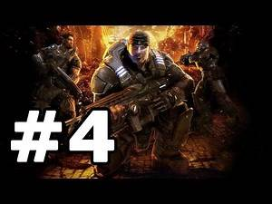 Gears Of War Walkthrough Part 4 - No Commentary Playthrough (Xbox 360)