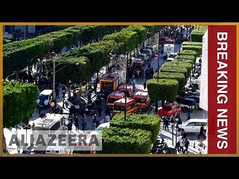 🇹🇳 Nine people wounded in Tunis suicide bomb attack   Al Jazeera English