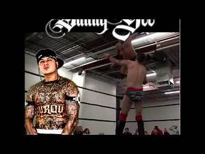 Danny Gee gangster pro wrestler luchador from New Mexico MUST SEE