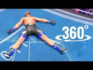 VR Boxing Creed 360 video Sylvester Stallone's Rocky Trainee 3D Game