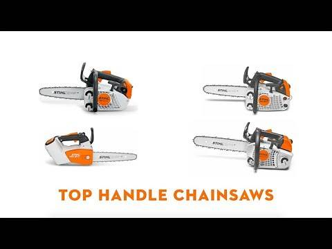 STIHL Top Handle Arborist Chainsaws | STIHL GB