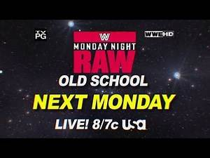 Old School Raw - Monday at 8/7 CT on USA Network