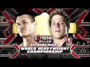 WWE Extreme Rules 2010 match card
