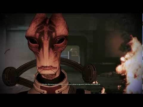 Mass Effect 3: Mordin gives his life to cure the genophage