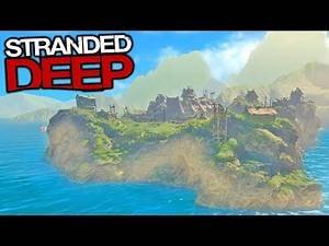 The Biggest Island Ever Found?! (Stranded Deep)