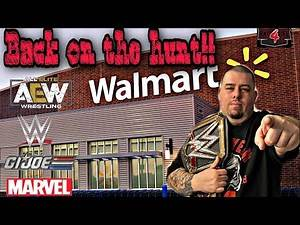 Wwe toy hunt!! Finding more AEW figures