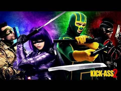 Kick-Ass 2 Score - 18 - Cemetery Attack / Hit-Girl Is Back