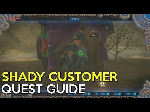 Shady Customer Side Quest Guide - Legend Of Zelda Breath Of The Wild