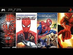 All Spider-Man Games on PSP