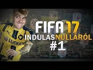 INDULÁS NULLÁRÓL - 1. rész - FIFA 17 ULTIMATE TEAM