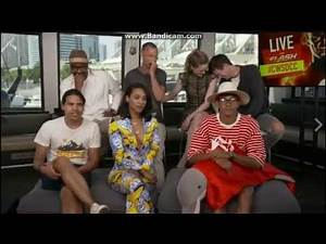 The Flash cast in the CW Boat - SDCC 2017