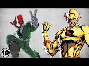 Top 10 Dumbest Super Villain Origins