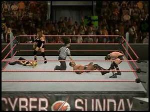 WWE SvR 2010 Highlight Reel; The McMahon-Helmsley Regime vs The Rock and Trish Stratus