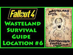 Fallout 4 - Wasteland Survival Guide - Nahant Oceanological Society - 4K Ultra HD
