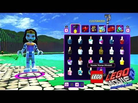 The LEGO Movie 2 Videogame - Character Creation and How To Save Them