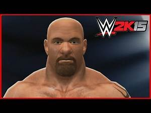 WWE 2K15 CAW Formulas: Goldberg created by KiNgTeEzY101