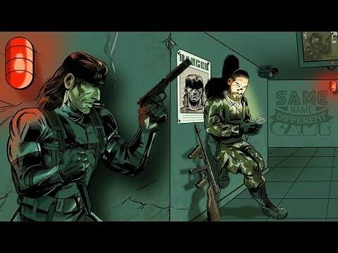 Same Name, Different Game: Metal Gear Solid (PlayStation vs. Game Boy Color)