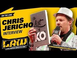 CHRIS JERICHO on 'Heated' Triple H Argument Over Kevin Owens Breakup | LAW INTERVIEW