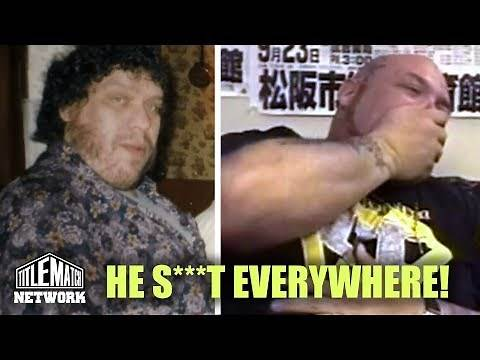 Bam Bam Bigelow - When Andre the Giant Took a S**t on Bad News Brown