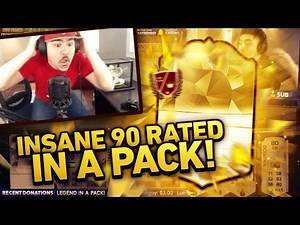 90 RATED LEGEND IN A PACK! FIFA 16 ULTIMATE TEAM