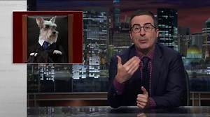 John Oliver: 2016 has been the 'f---ing worst' year