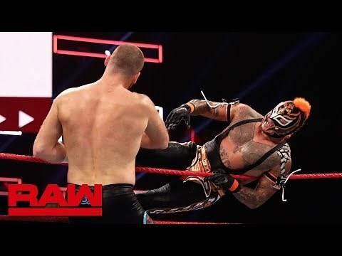 Rey Mysterio vs. Sami Zayn: Raw Reunion, July 22, 2019